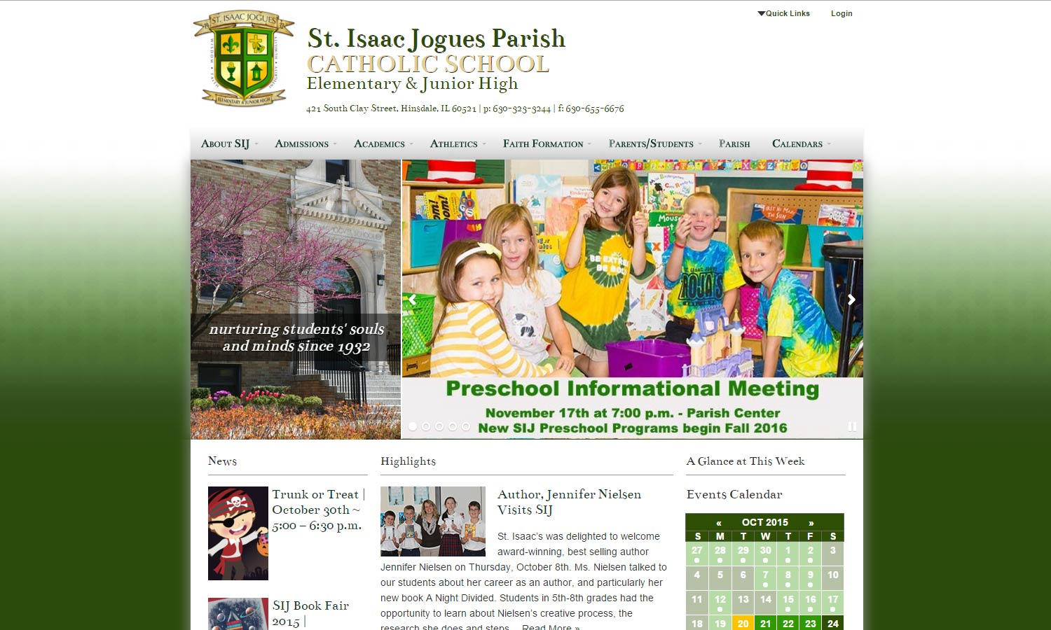 St. Isaac Jogue Parish School
